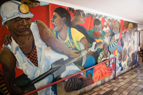 mural at community house